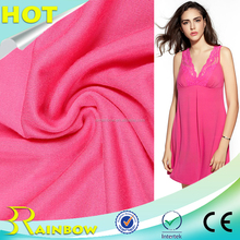 Superior Quality Plain Dyed Knitting Single Jersey Lenzing Modal Spandex Fabric for Underwear