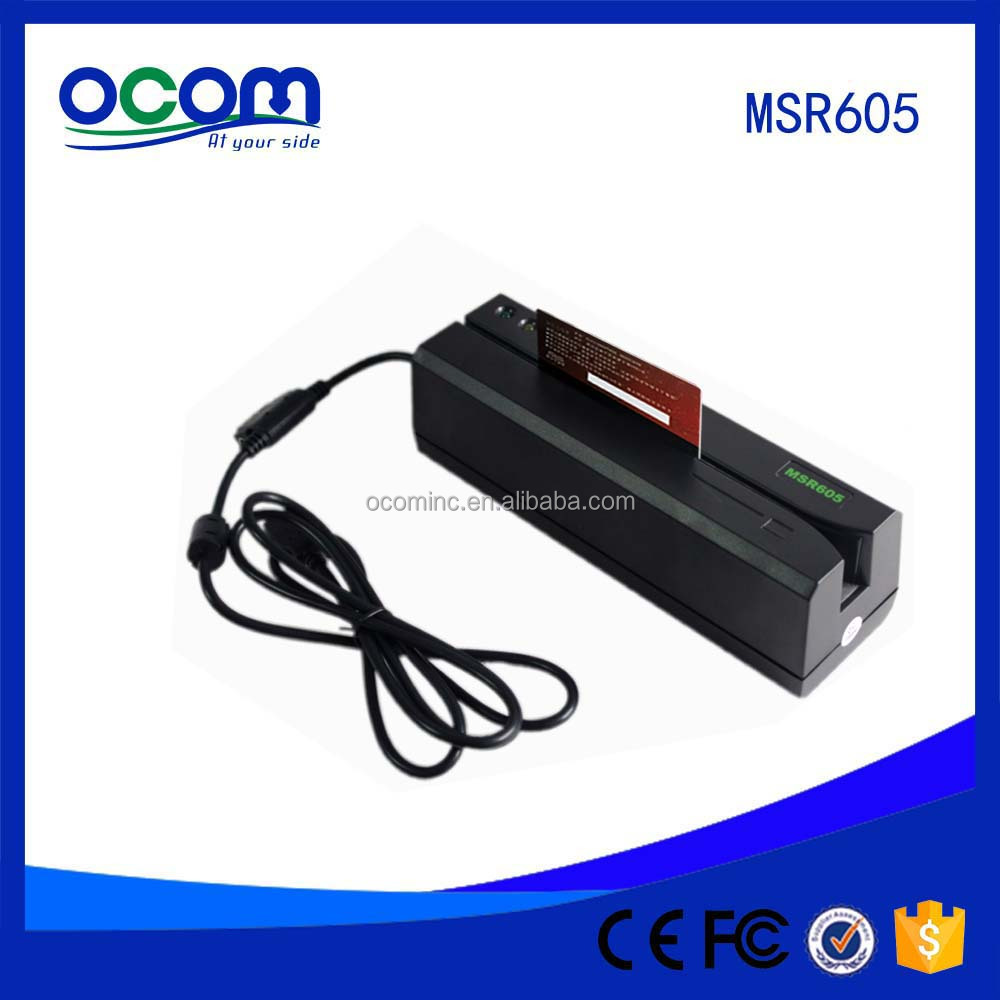 MSR900 MSR 609 Compatible USB Magnetic Stripe Card Reader Writer