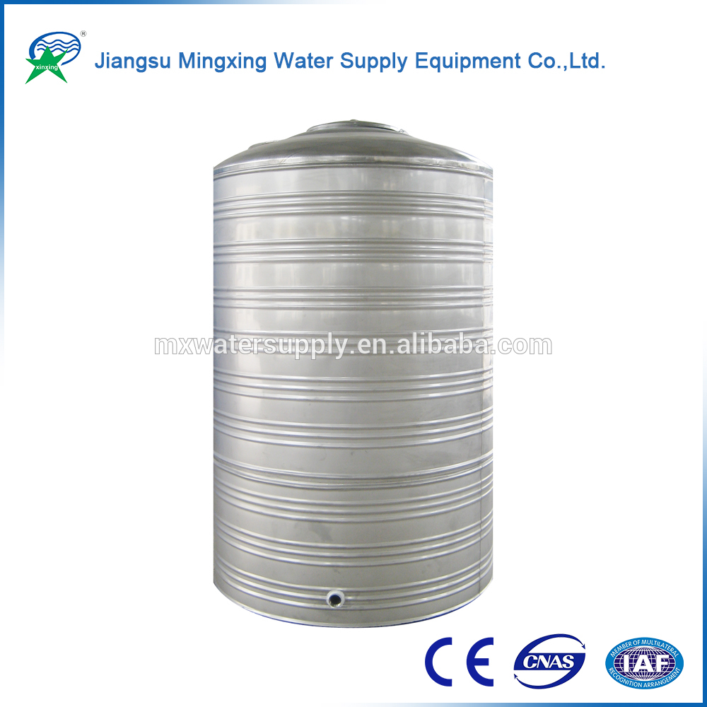 Stand Up roof water tank for grinding
