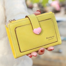 custom women pu leather wallet and beautiful ladies clutch purse