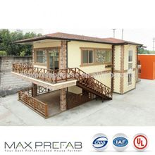 PV226 Lowest Cost Quick Build Low Price Light Steel Villa House Prefabricated