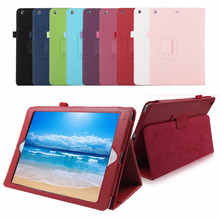 For iPad 9.7 2017 2018 New Model A1822/A1893 Smart Folding PU Leather case cover Funda Cover