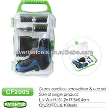 3.6v lithium mini electric cordless screwdriver with GS CE