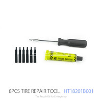 Cheap and Basic Tyre Repair Tool Kit used for Car Motorcycle Bicycle Tire Repair