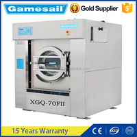 Professional commercial and industrial 70kg laundry washing machine for hospital