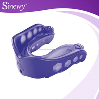 Safety double mouth guard plastic mouth guard for sports