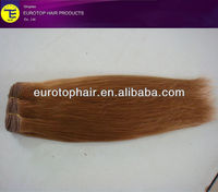 "16"" Straight wave hair weave,300g, wholesale factory price human hair"