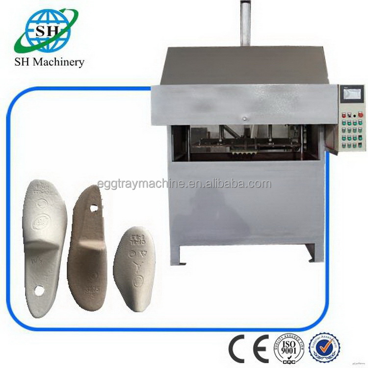 Modern latest pap paper shoe tree forming machine