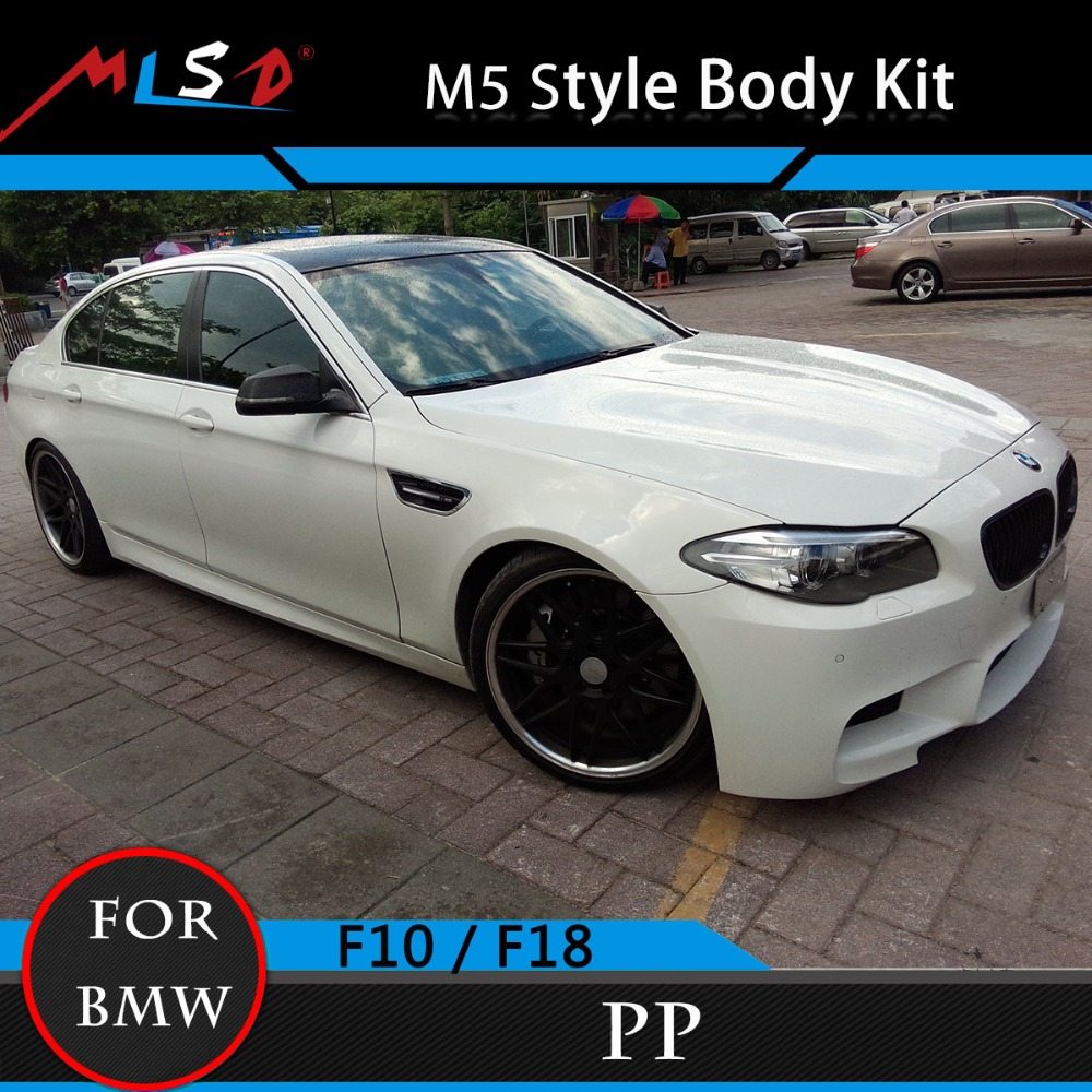 Car-Covers 5 Series Bodykits Bumper Styling Perfect Fitment M5 Style Body Kit For BMW 5 Series 11-13