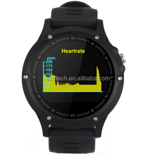 CE Rohs Certified sport oled smart watch gps,running marathon smartwatches with heart rate monitor