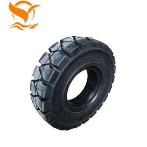 China tyre factory direct sale forklift solid tyres