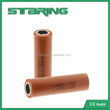 LG 18650 C2 2800mAh 3.7V High Capacity Rechargeable Battery for 18650 3.7v battery