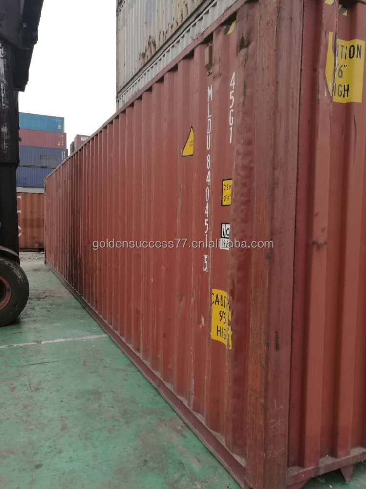Tianjin 40 feet High Cube container