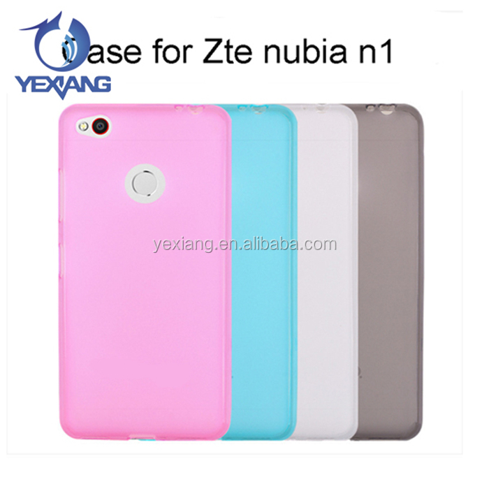 Phone Case Accessories Transparent Silicone Pudding Case Soft Tpu Back Cover Case For Zte Nubia n1