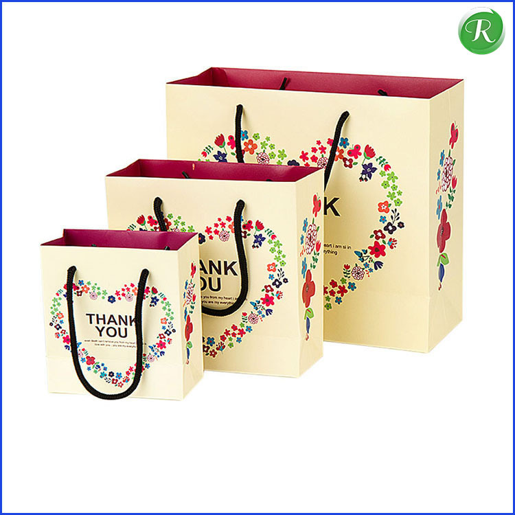 Wholesale fancy purse style gift paper bag &Paper purse bag