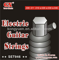 Nickel electric guitar strings,effect pedal
