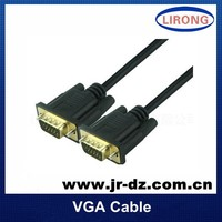 5m long 6.0mm 0D BC VGA M/M Cable Cord for PC TV