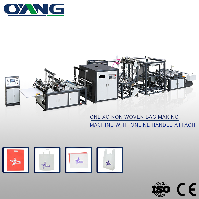 High quality Quality assurance school bag making machine