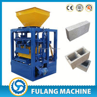 small scale industries machines Good after-sales service manual cement brick making machine in india
