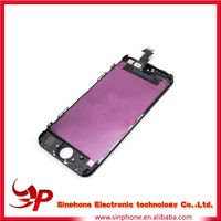 Brand new quality 100% Original guangzhou Replacement lcd Screen for iphone 5 original
