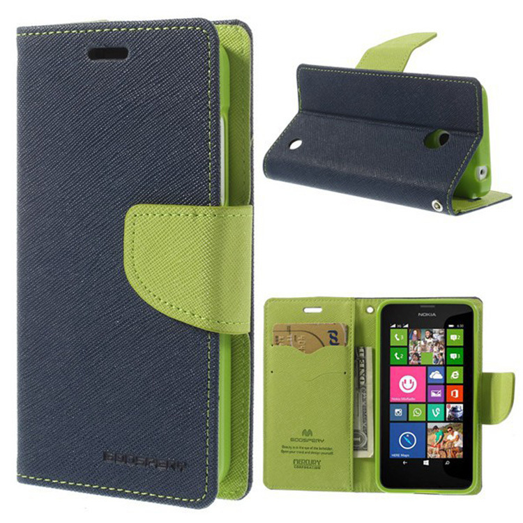 Flip Leather For Acer Liquid Z520 Wallet Case Accept Paypal