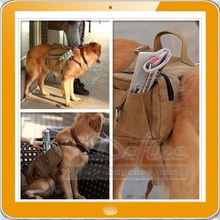 Travel Hiking Cotton Canvas pet carrier Saddle ruchsack