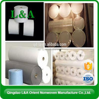 2104 Hot White Nonwoven Spunlace Fabric Roll Chinese Supplier