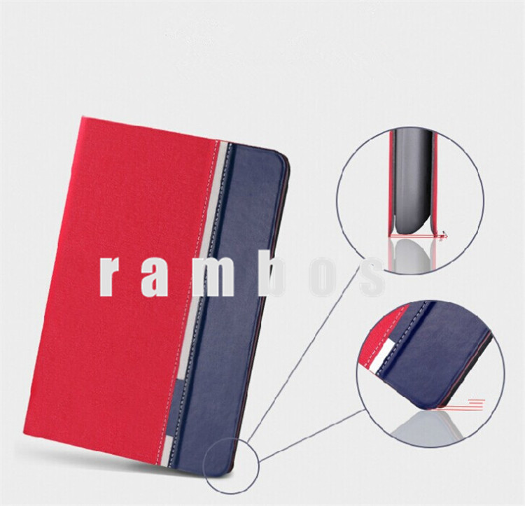 5 Colors Book Style Jeans Pattern 7.9 inch Leather Cover Pouch Case for iPad Mini & Mini 2