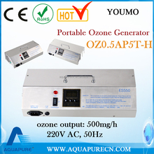 Hot sale CE, RoHS approved portable Ozone Water Generator for ozone water treatment machine