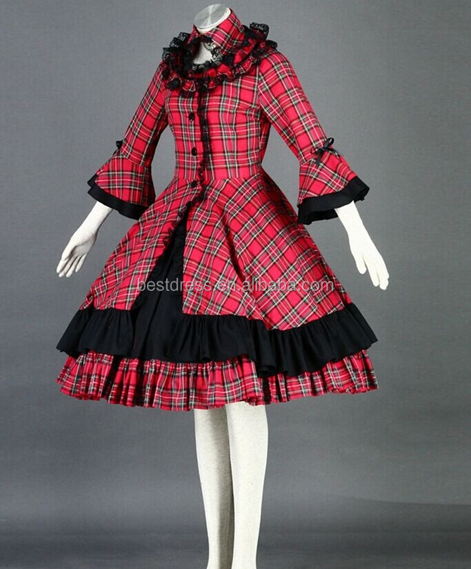 walson lolita dress custom-made cosplay lolita in lingerie gothic lolita dress