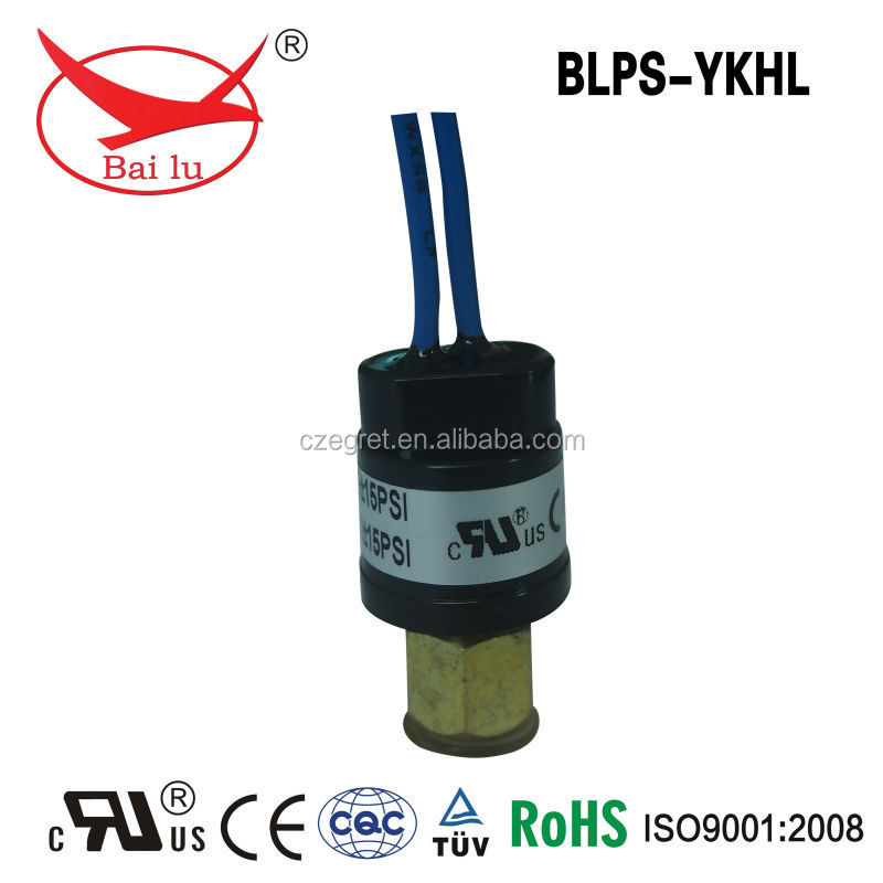 Normal open pressure switch for water flier