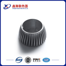 Motorcycle auto parts China suppliers high demand quality extruded aluminum heatsink / radiator for sale