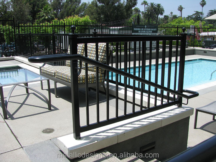 balustrades wrought iron cheap deck railing