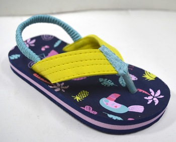 Water Line Design Cute Summer Kids Fancy Sandals