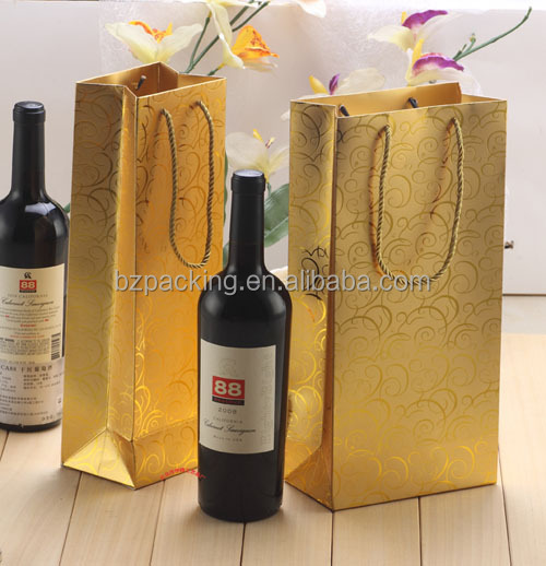High Quality Wine Paper Bag
