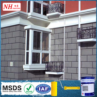 High weather resistance texture stone spray coating