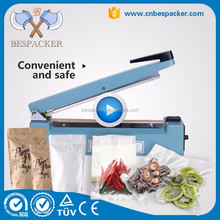 PFS series mini plastic bag manual heat sealer portable plastic sealing machine hand sealing machine for pp,pe etc