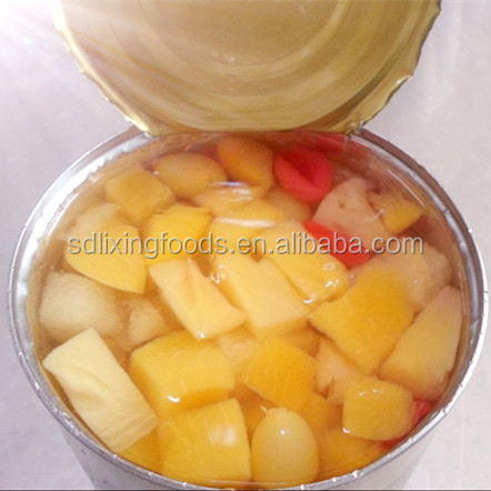 Fresh Canned Fruit Cocktail In Tin for Hot Selling