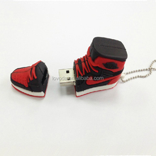 Bulk cheap pvc nike shoes 4GB USB flash drives/usb stick 500gb/usb 2 driver for ice cream promotional gifts LFN-219