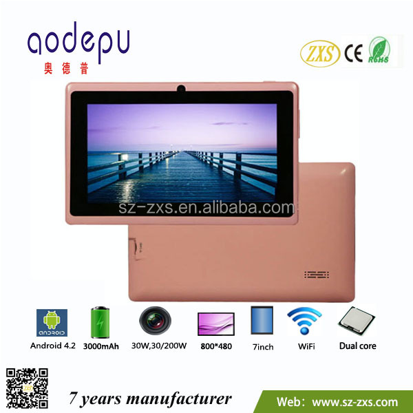 Roll Top Laptop Price 7 inch android tab bulk wholesale dual core bright color mini pc tablet zxs-7-Q88