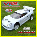 electric RC car, 4WD brushless touring car