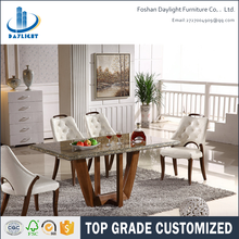 2016 latest popular hot sale modern solid wood dinning table dining room furniture