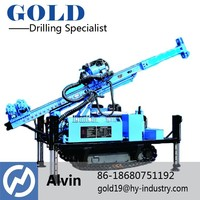 GXY-100 powerful engine crawler drilling machine