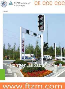 traffic signal light poles
