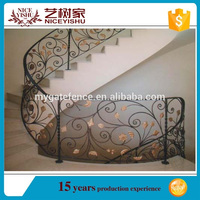 modern iron fencing designs for interior stairs\outdoor baluster