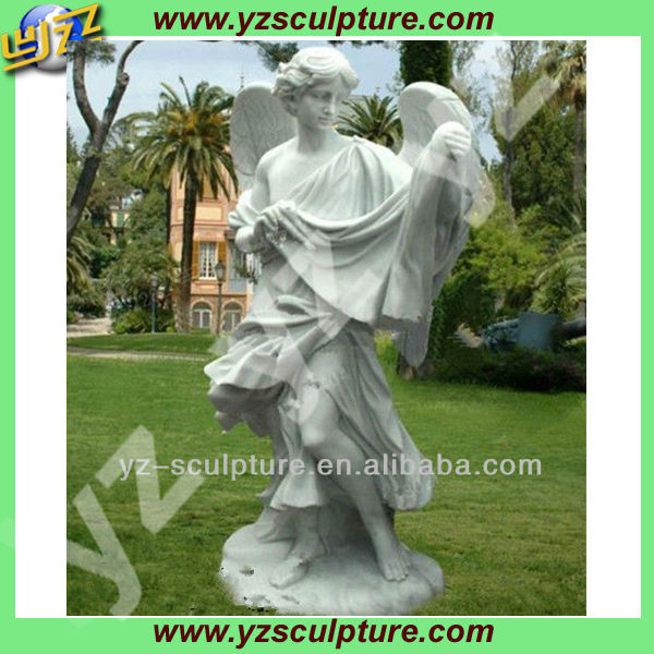 stone religious angel garden statue for sale