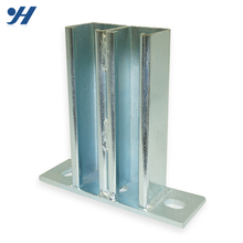 China Alibaba Supplier Wholesale Hot Dipped Galvanized Steel Wall Shelf Bracket