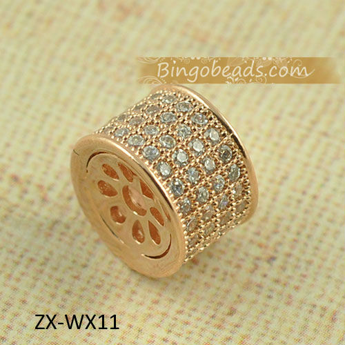 High Quality Crystal stones 12mm Loose Spacer Bead Pave Disco Ball Rhinestone Crystal Beads