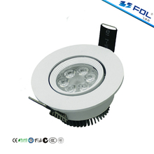 High Quality 6W COB LED Spot Light 3 Inch with CE RoHS SAA Certifications
