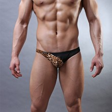 2016 Men Underwear Thongs Male Fashion Super Sexy Sheer mens thongs and g strings gay mens thongs Underpants M L XL New Hot